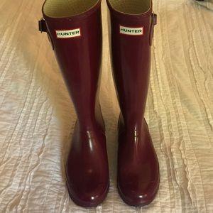 Purple Hunter Original Rain Boots